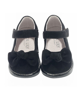 Jack and Lily My Shoes Black Velvet Mary Janes Aus 3