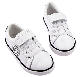 "Freycoo ""Mini Style"" White Leather Shoes"