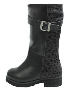 Buddy Jungle Black Leather Boots