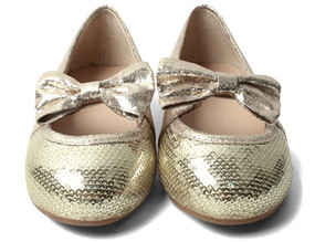 Buddy Pola Gold Shoes Approx Aus Size 13.5 to 1