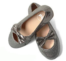 Buddy Pola Silver Shoes Aus 5.5 only