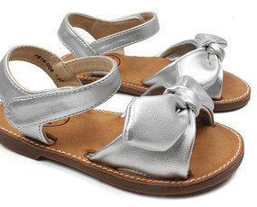 Buddy Aroha Silver Sandals Aus 3 only