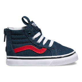 Vans SK8-Hi Varsity Navy Toddler Shoes US4 Only