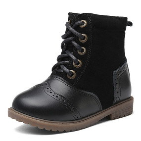 "Snoffy ""Boho"" Black Leather Boots"