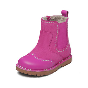 "Snoffy ""Amelia"" Pink Leather Boots Aus Size 8 only"