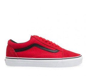 Vans Old Skool Racing Red Kids Shoes