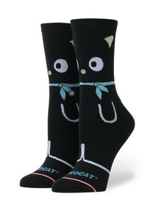 Stance Chococat Girls Black Socks