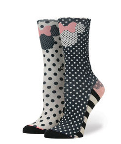 Stance Sprinkled Minnie Girls Socks