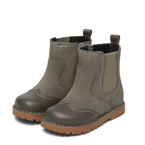 "Snoffy ""Amelia"" Khaki Leather Boots Aus 12 only"