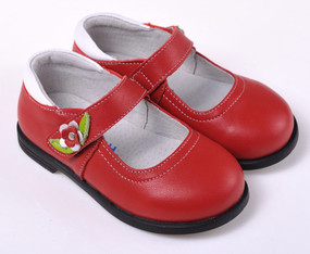 "Caroch ""Zeta"" Red Leather Shoe"