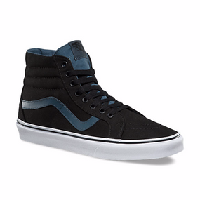 Vans SK8-Hi Zip Black/Dark Slate Kids Shoes