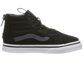 Vans SK8-Hi Reissue Black/Dark Slate Toddler Shoes