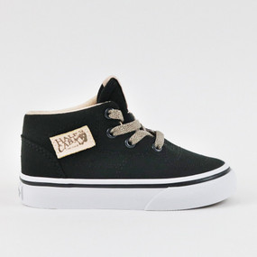 Vans Half Cab Veggie Tan/Black Toddler Shoes US5 only