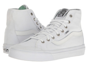 Vans Womens Black Balls Hi SF True White Hi Tops