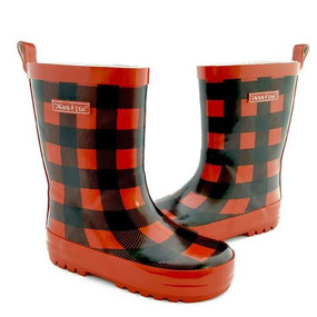 Piper & Ike Plaid Gumboots