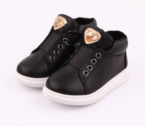 "Freycoo ""The Royales"" Black Leather Shoes"