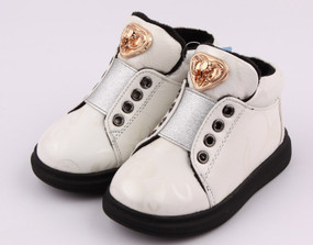 "Freycoo ""The Royales"" White Leather Shoes"