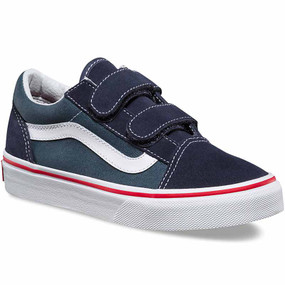 Vans Old Skool V 2 tone Parisian Night Toddler Shoes