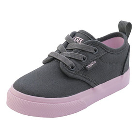 Vans Atwood Asphalt/Pink Lady Toddler Shoes US6 Only