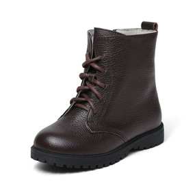 "Snoffy ""Sway"" Brown Leather Boots"