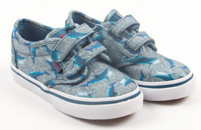 Vans Atwood V Shark Blue Toddler Shoes