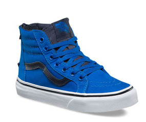 Vans SK8-Hi Zip Imperial Blue Kids Shoes