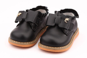 "Freycoo ""Tilly"" leather black shoes"