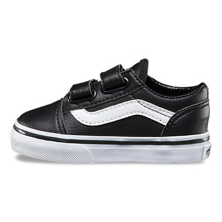 vans toddler black