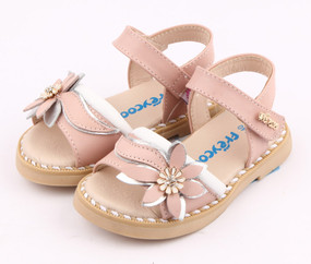 "Pre Order Freycoo ""Felicity"" Pink Leather Sandals"
