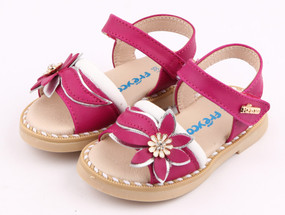 "Pre Order Freycoo ""Felicity"" Hot Pink Leather Sandals"