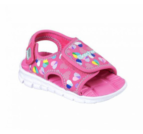 Skechers Synergize Splash-n-dash hot pink girls sandals