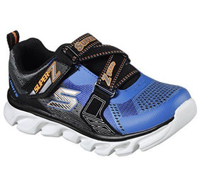 Skechers Hypno Flash Light Up Boys Blue Sneakers