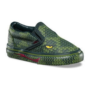 Vans Classic Slip On Reptile Poison Toddler Shoes