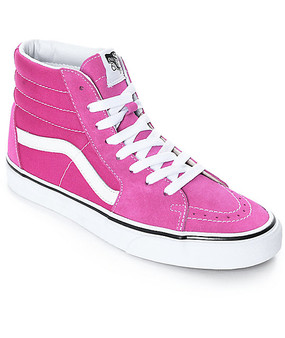 Vans SK8-HI Very Berry Womens - Youth Hi Tops