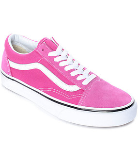 Vans Old Skool Very Berry Womens - Youth Hi Tops