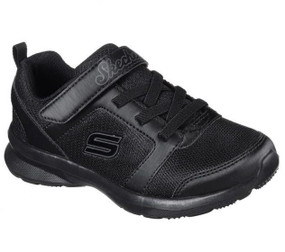SKechers Skech Stepz Sweet Twist Black School Shoes
