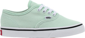Vans  Authentic Blue Flower Girls Kids Shoes