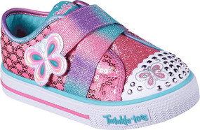 Skechers Twinkle Toes Snazzy Skips girls Light Ups