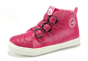 HB Trend Pink High Tops Girls Aus Size 4