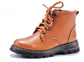 HB Mac Brown Leather Boots