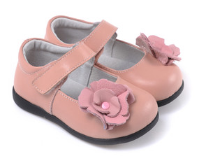 "Caroch ""Peony"" Pink Leather Shoe"