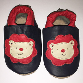 """Tipsie Toes """"Little Roar"""" Leather Soft Sole Shoes"""
