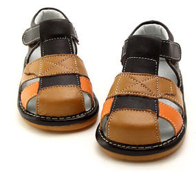 "Freycoo ""Benji"" Leather Sandals"