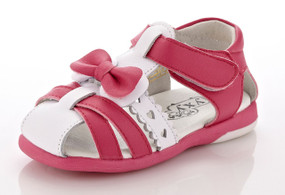 "YXY ""Tiffany"" Hot Pink Leather Sandals"