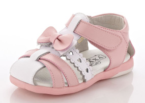 "YXY ""Tiffany"" Pink Leather Sandals"