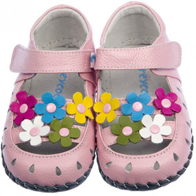 """Freycoo """"Spring"""" Pink Soft Sole Leather Shoes"""