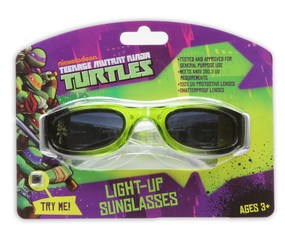 Ninja Turtle Light-Up Sunglasses
