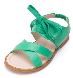 "Snoffy ""Scarlett"" Green Leather Sandals Aus 2 Only"