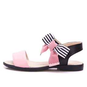 "Snoffy ""Minka"" Pink Leather Sandals"