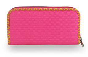 Mimpi Mannis Puffy Wallet Pink
